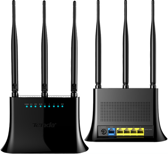 TENDA F323 300Mbps Wireless Router English Firmware V5.07.49 Download