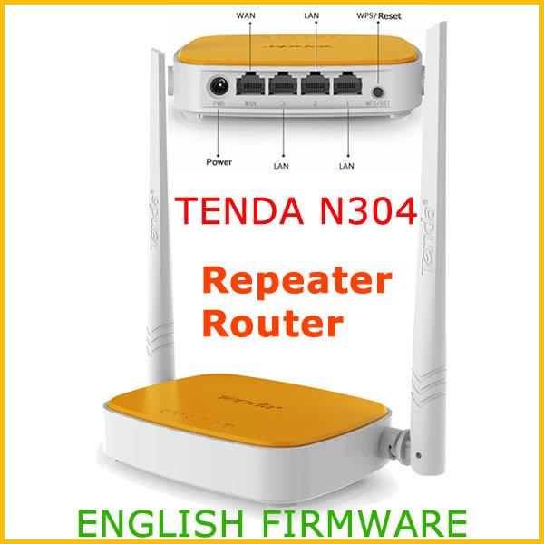 Tenda N304 Wireless Router ENGLISH USER Manual (PDF)
