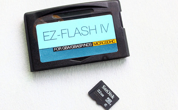 EZFlash IV/EZ Flash 4 GBA Flashcart v1.76 Kernel Download (Micro SD card Version)