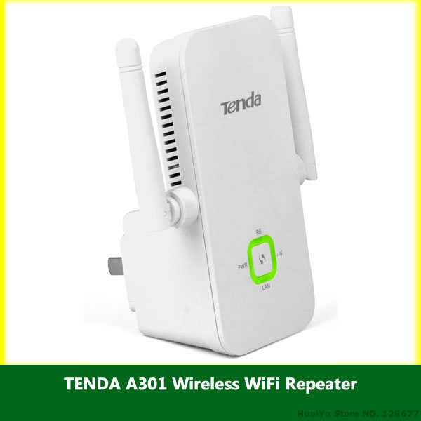 TENDA A301 Wireless WiFi Repeater Range Extender V5.07.73_EN ENGLISH Firmware Download