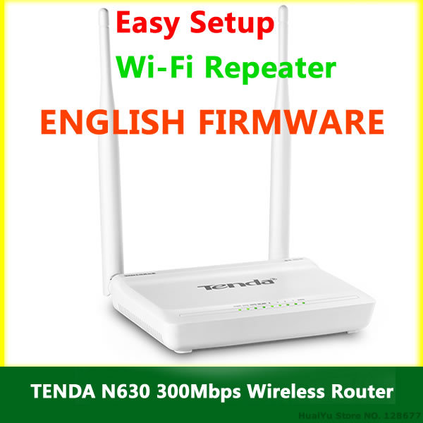Tenda N630 300Mbps WIFI Router ENGLISH USER MANUAL (PDF)