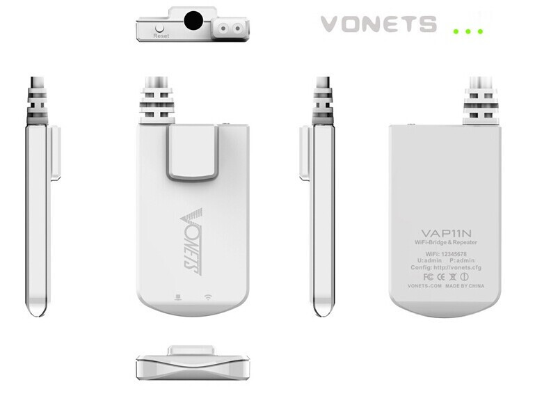 Vonets Mini WiFi Router VAR11N Firmware Upgrade Guide