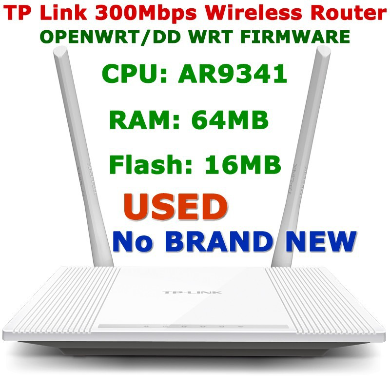 TP-Link TL-WR847N v2 AR9341 Flash 16MB Wireless Router DD-WRT FIRMWARE Download