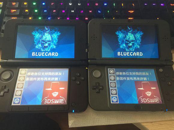 Blue 3DS - Nueva Flashcard en modo 3DS para 3DS y New3DS