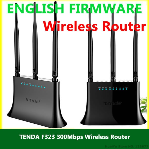Tenda F323 300Mbs Wireless Router ENGLISH User Manual Download (PDF)