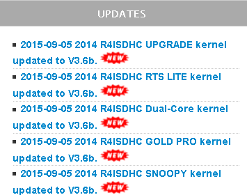 2015 R4i Gold Pro V3.6b kernel download for hacking NEW 3DS/3DS 9.9.0-26