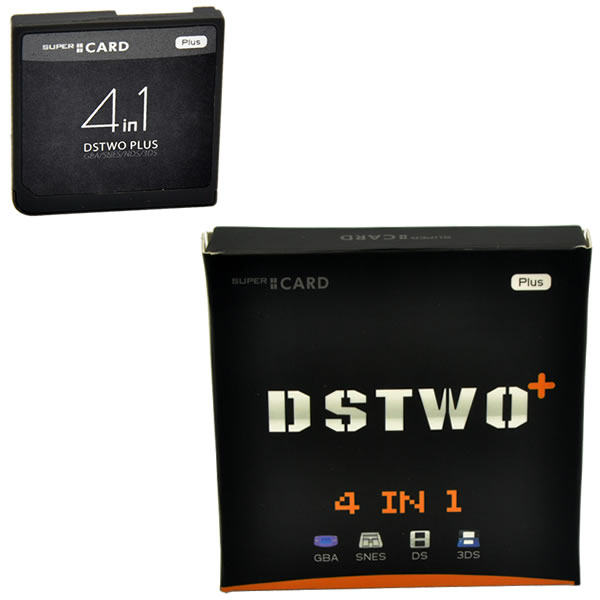 Supercard DSTWO Plus has released, buy it for playing 3ds games on 3ds v4.1 – v9.2