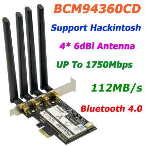 Broadcom BCM94360CD 802.11AC WiFi Adapter Driver Download for Windows 7/8/10