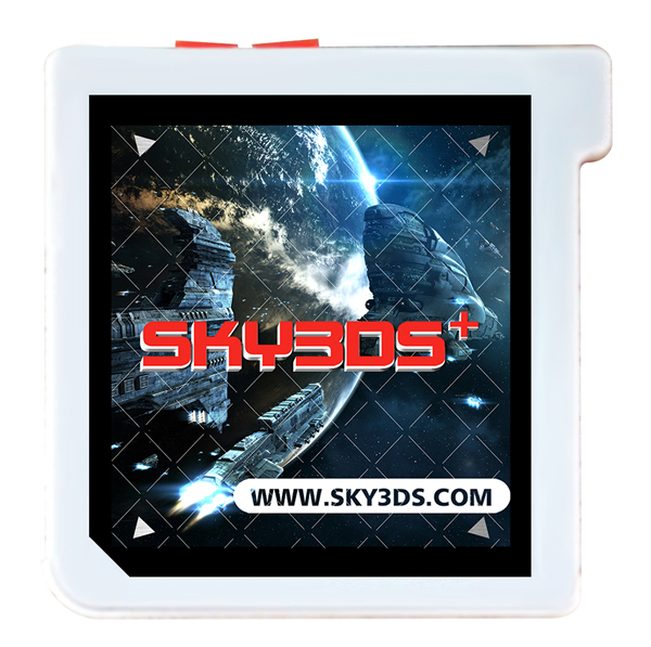 How to install Sky3ds+ v110 Firmware to play free 3ds Games?