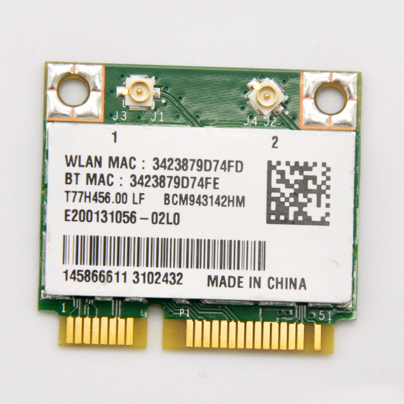 Broadcom BCM943142HM PCi-E WiFi Adapter Driver download for windows 7/ 8