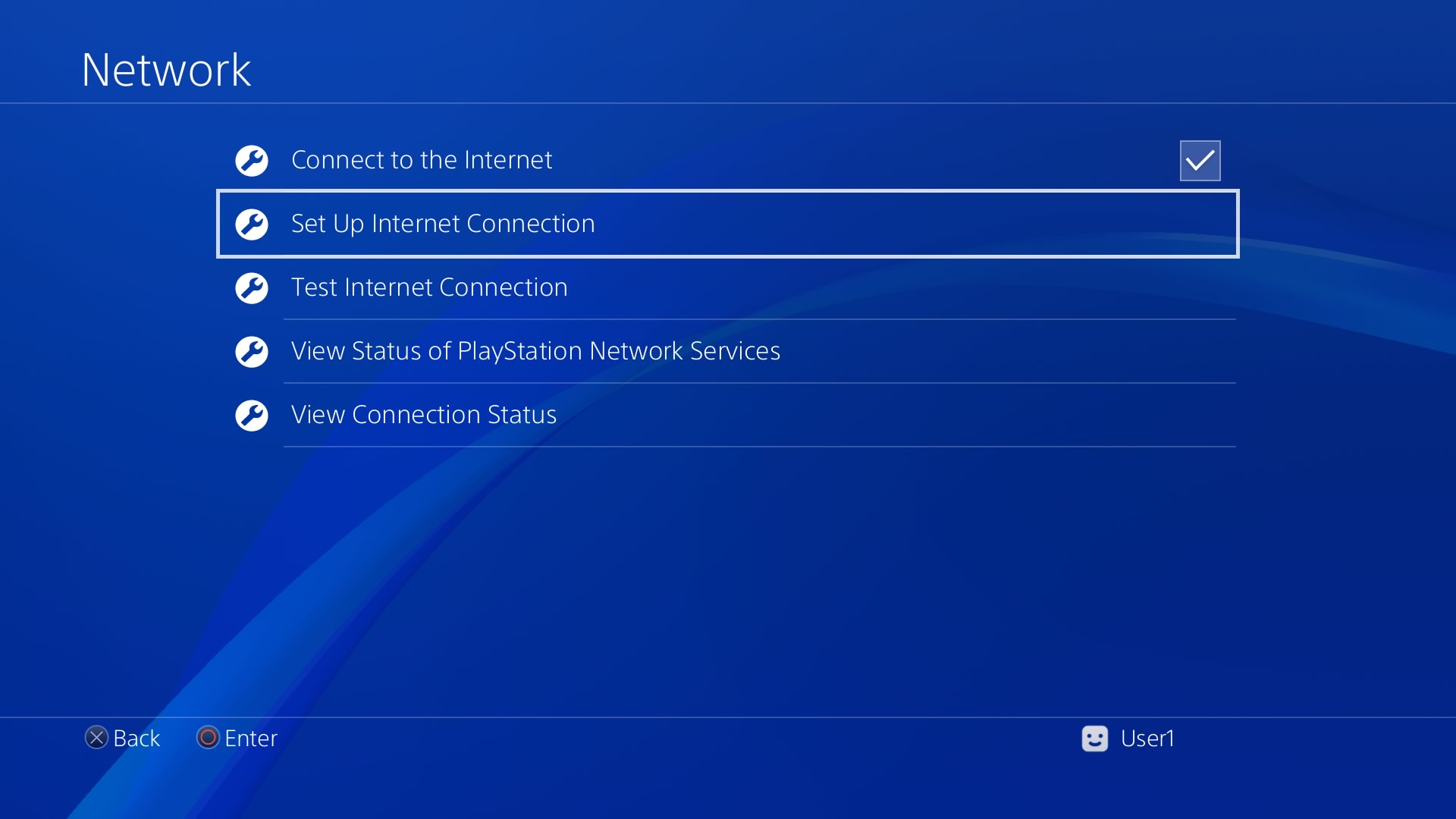 how to connect to wifi on ps4 with password