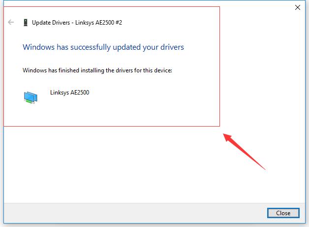 linksys ae1200 drivers windows 10